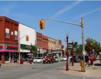 Downtown Essex Ontario