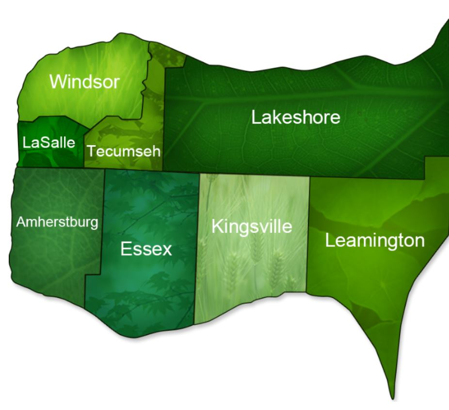 The Town of LaSalle is one of eight municipalities of which make up Essex County.