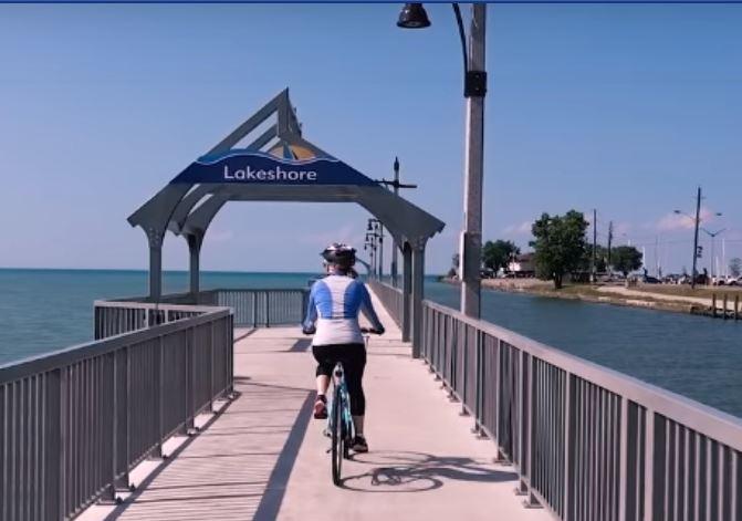 Lakeshore Ontario  Boardwalk