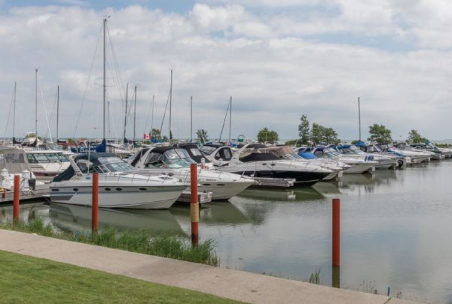 Lakeshore Ontario  Marina