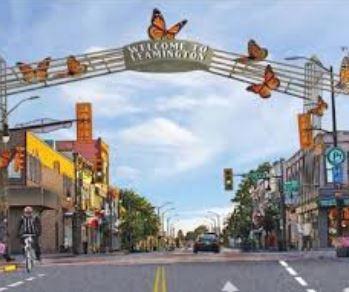 Downtown Leamington Ontario